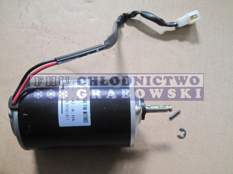 Condenser Fan Motor Bus 24v Replacement