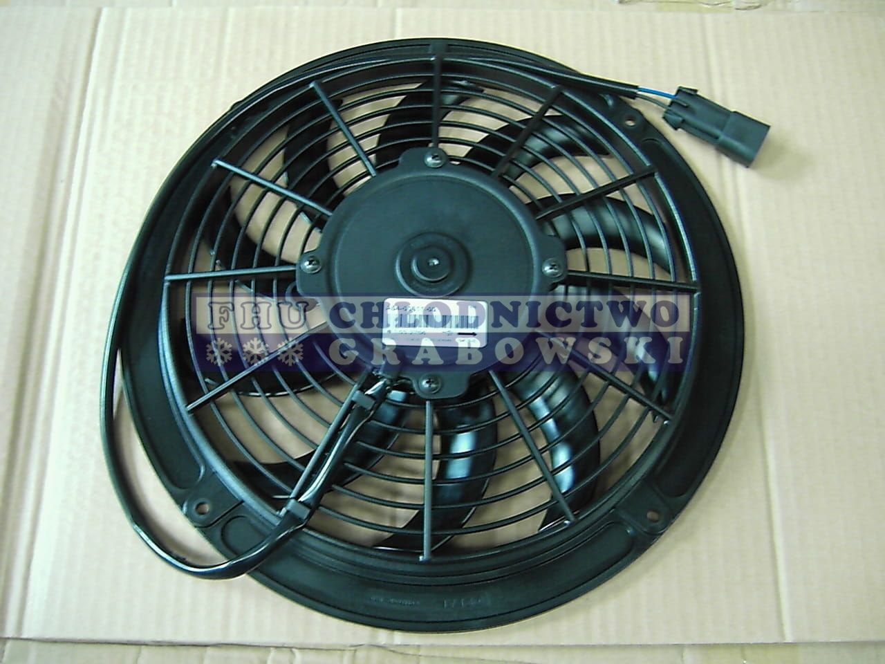 Condenser Fan 12v Carrier Xarios Viento 54 00611 02