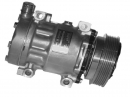 Компрессор Sanden SD 7H15 (12V ; 6PK ; 123mm) ; 4628 / 8105 replacement