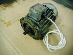 Electric motor 380V ; 1400 rpm/min ; 1,5 kW - used